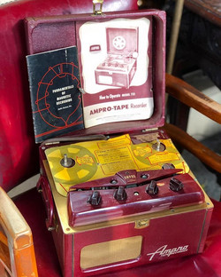 Ampro 731 Magnetic Tape Recorder, circa