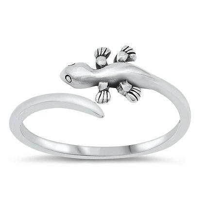 Dizzy Miss Lizzy Lizard Wrap Ring