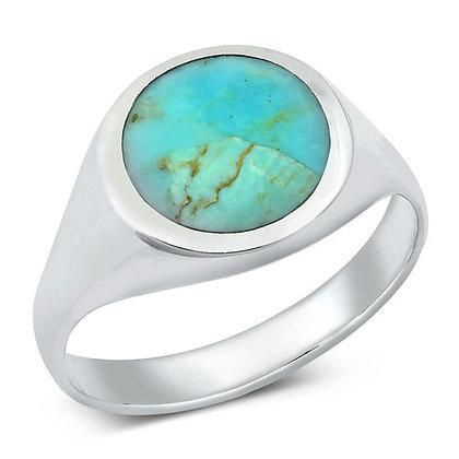 Turquoise Signet Ring