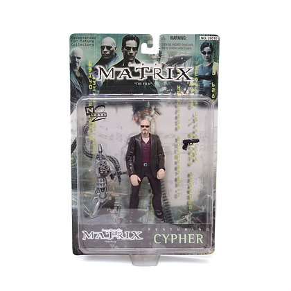 "6"" The Matrix, Cypher Collectible Action Figure"