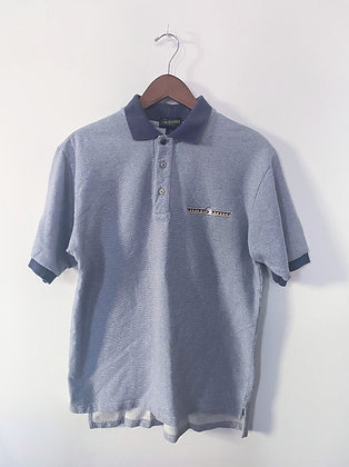 "Normcore + Dadcore 90's""Flying Beaver"" Polo Shirt"