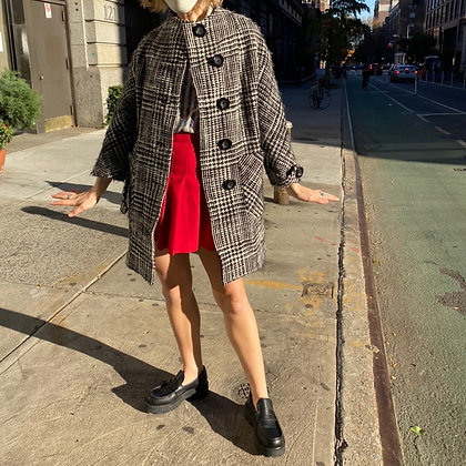 Alice + Olivia Tweed Coat
