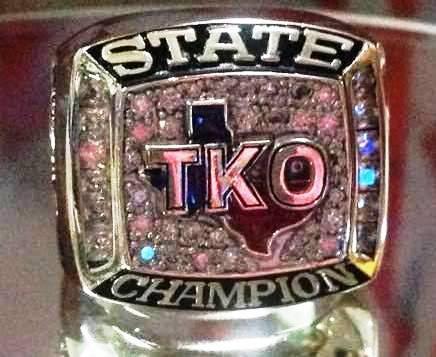 2016 TKO Championship Ring