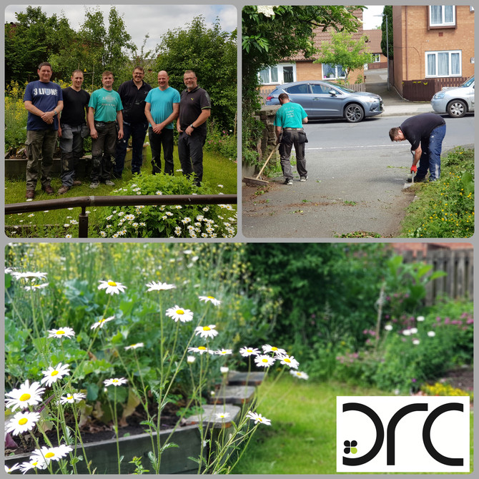 DRC & Nando's Helping Local Community Projects.
