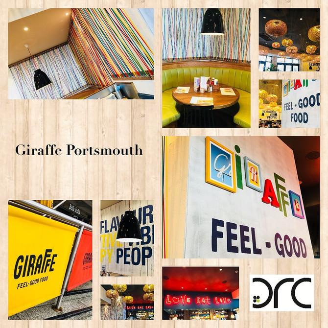 Giraffe Portsmouth