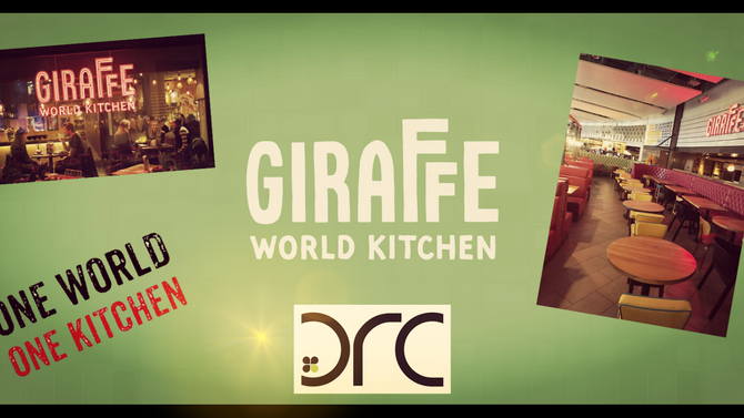 DRC refresh at Giraffe Meadowhall & Manchester