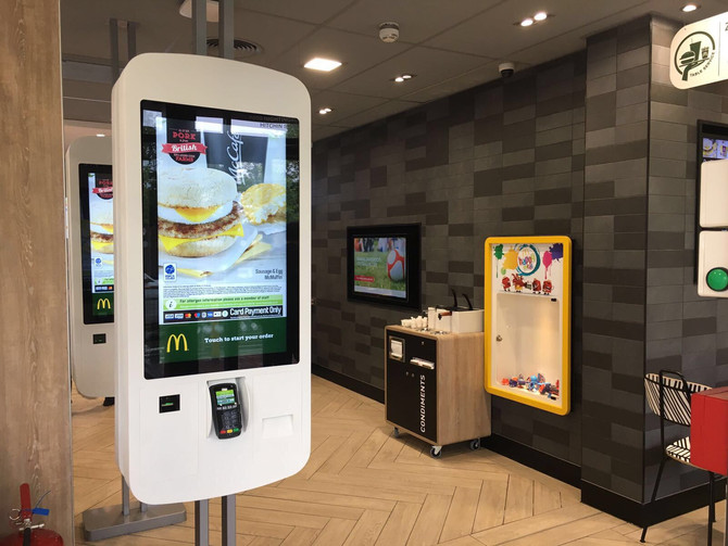 McDonalds Hitchin Handover