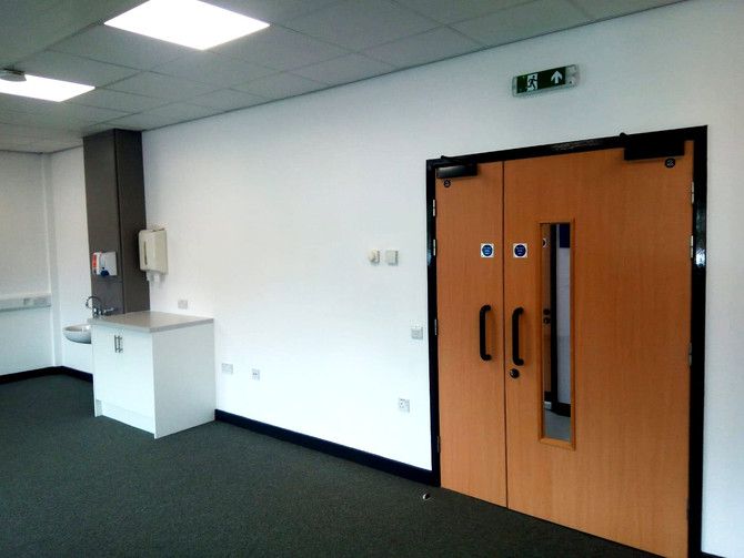 Handover at Harworth Primary Care Centre