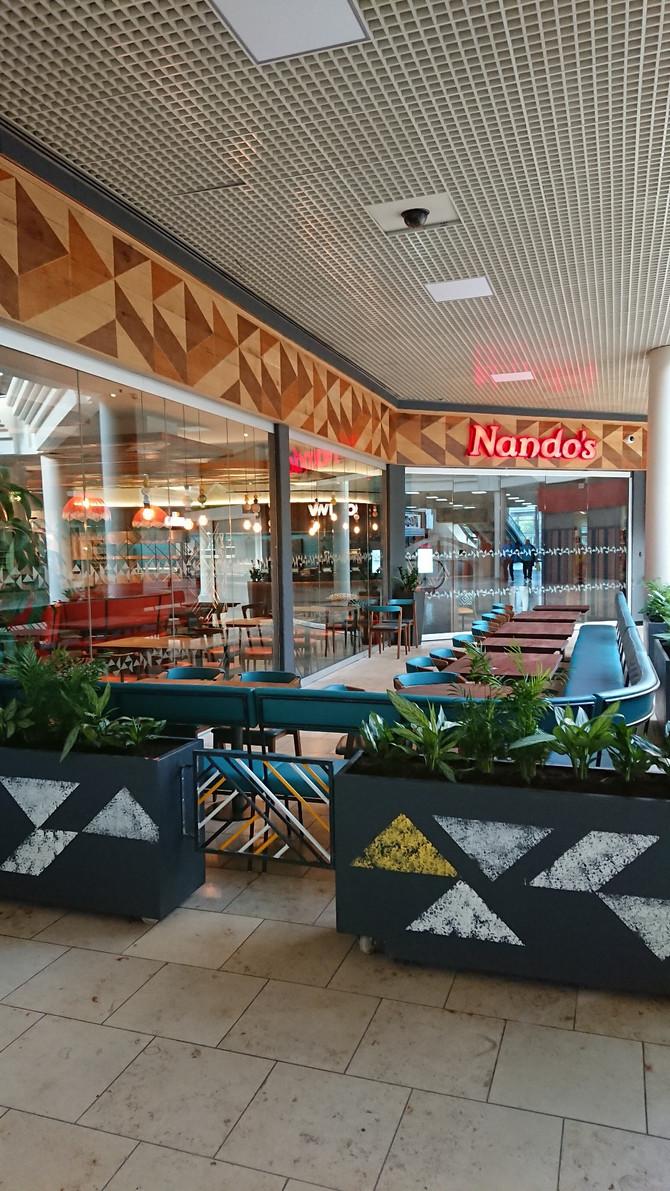 Nando's Metrocentre Newcastle Handover