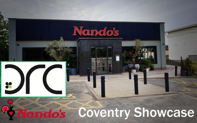 Nando's Coventry Showcase