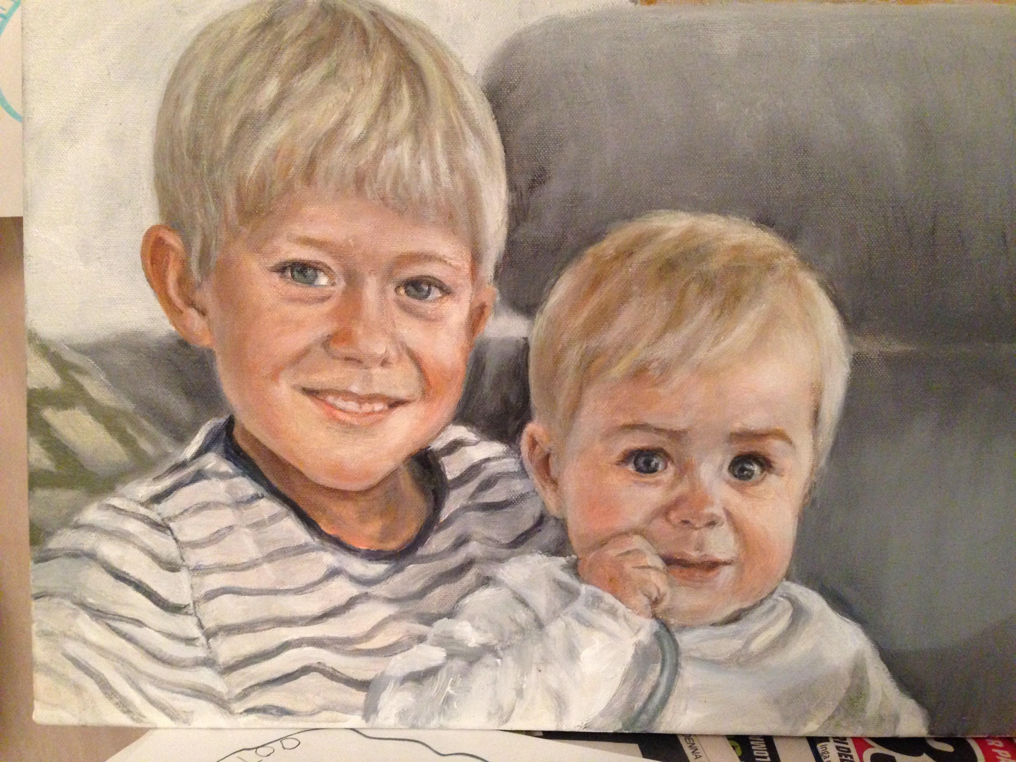 Lucas och Victor