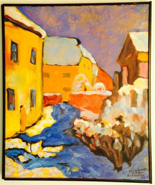 Efter W.Kandinsky, 1909