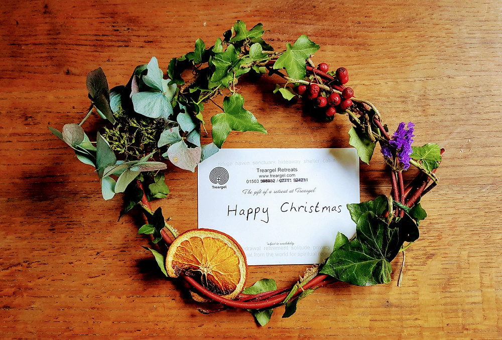 Treargel Christmas wreath.