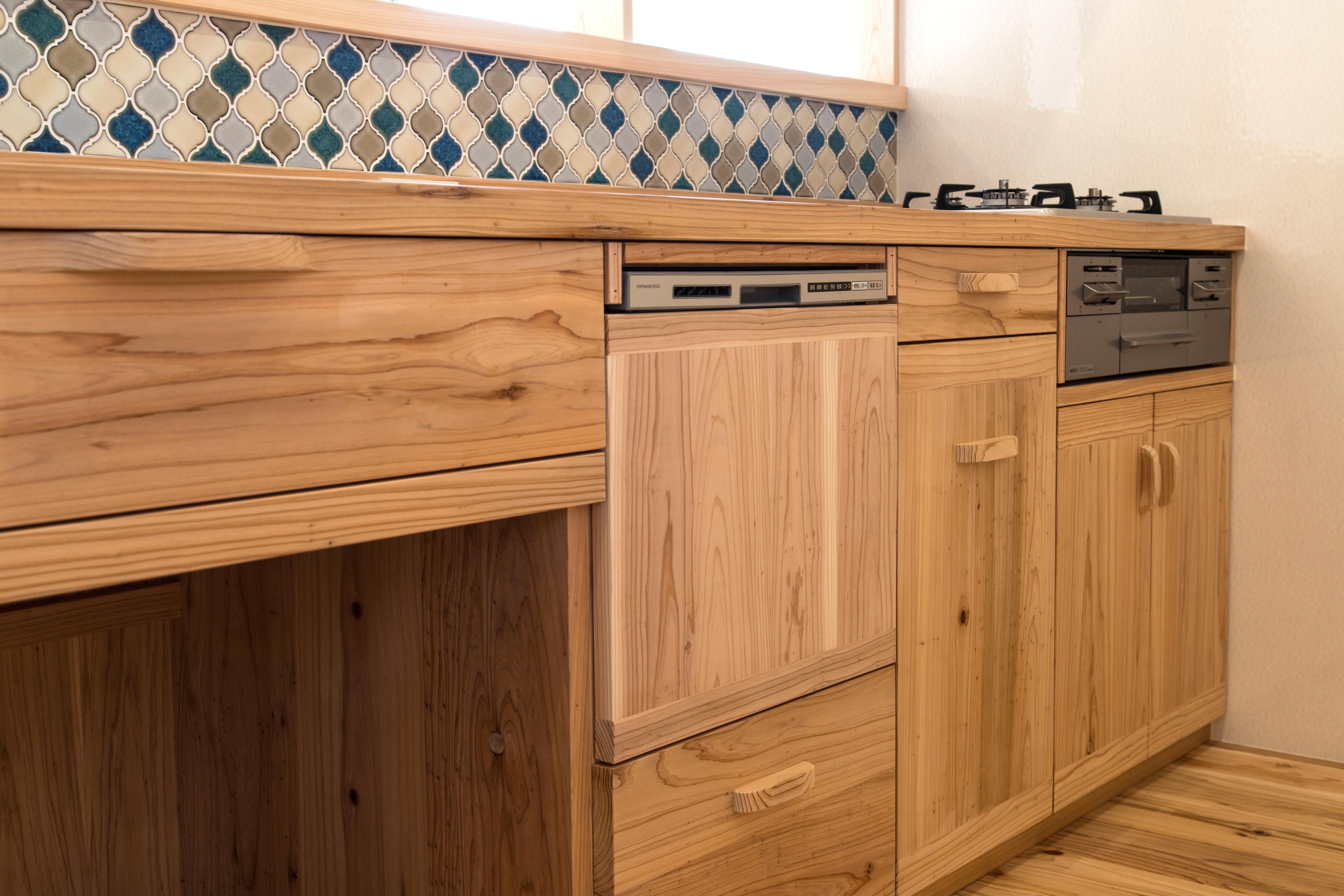 木造キッチン