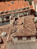 Broken Rooftop in Tui Spain