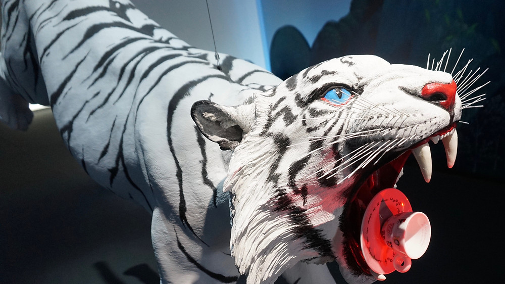 Siberian tiger in 25th Anniversary of the illy Art Collection, Venice 2017