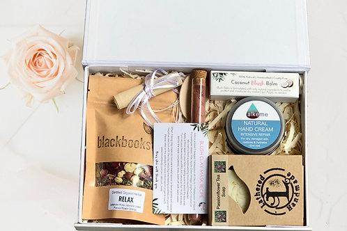 Herbal teas and pamper gifts