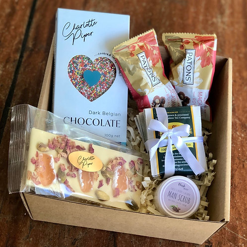Special chocolate and tea gift