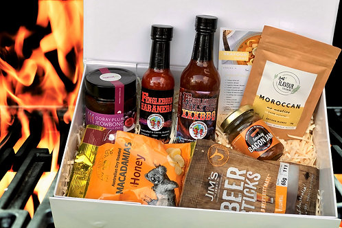 Spicy gourmet gift box