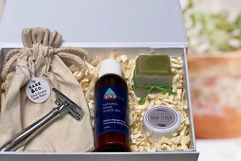 Men's grooming gift box