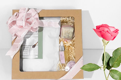 All natural spa gift box