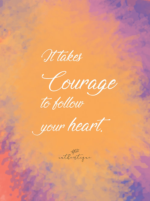 Courage kaart A5