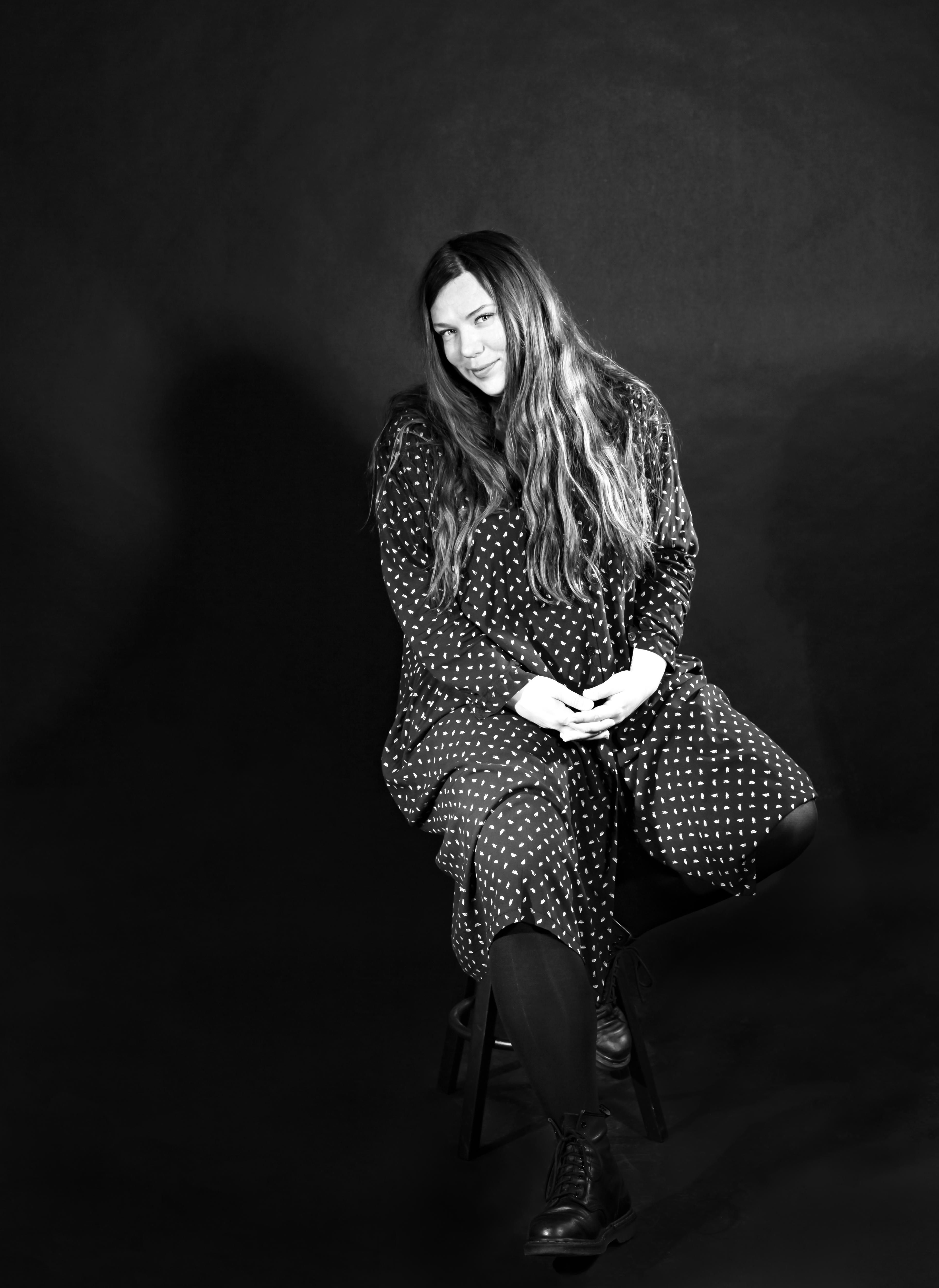 Kristina in studio