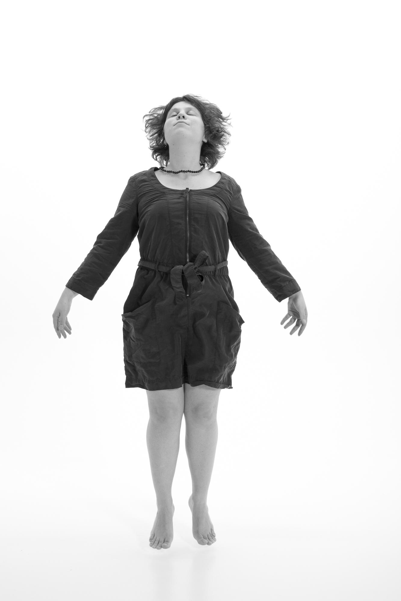 selfportrait, flying.