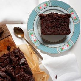 עוגת שוקולד בננה טבעונית