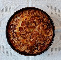 עוגת תפוחים נורווגית