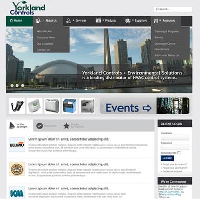 Yorkland Controls website