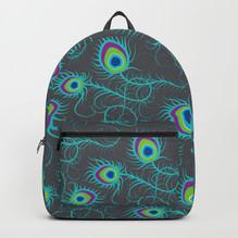 Peacock Fever backpack