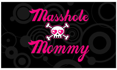 Masshole Mommy business cards