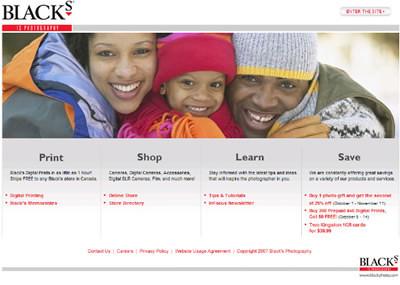 Blacks website