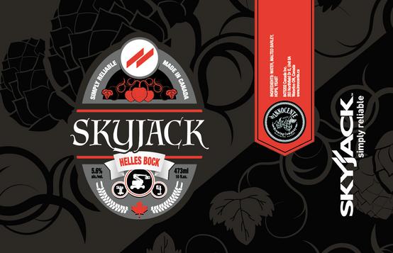 bauma Beer label