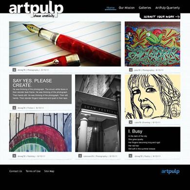 ArtPulp website