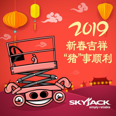 2019 New Years WeChat