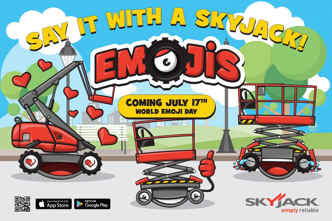 Emoji Day banner ad