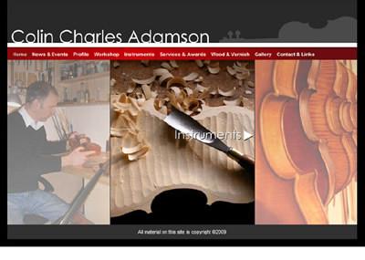 Colin Adamson website