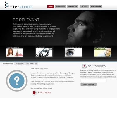 Interstrata website