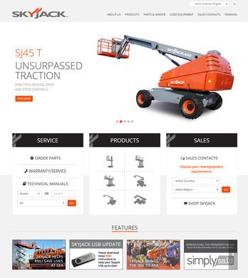 Skyjack website 2014