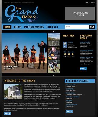 The Grand FM website