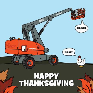 Thanksgiving social post