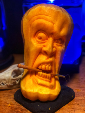 Carved LIVE on episode 1 of Carver and Creators Youtube channel