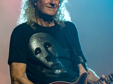 Congratulations, Brian May!