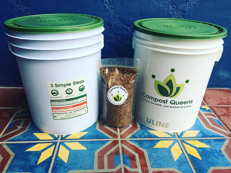 Bokashi Compost Starter Kit