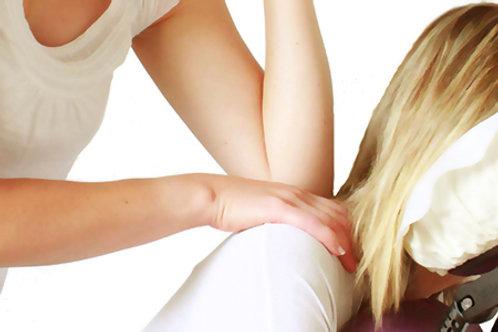 Massage Amma à l'huile - 25 min