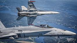 Finnish air force F-18C