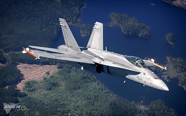 F-18C from Finnish air force