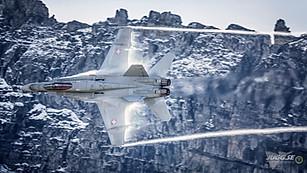 Swiss air force F-18C